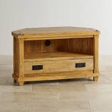 light wood corner tv stand baku light natural solid mango corner tv stand oak furniture land