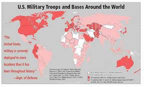 map us army bases american empire the new rome american army bases around the world