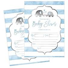 boy baby shower invitations with raffle ticket