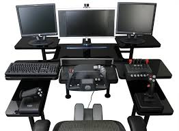Ultimate Computer Workstation by Computer Desks For Gamers Home Painting Ideas