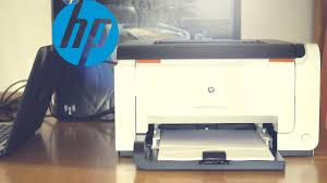 hp laserjet cp1025nw laser color printer wifi low cost youtube