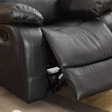 eland black rocker recliner chair by inspire q classic free