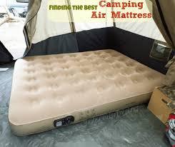 the best camping air mattress insta bed queen air mattress for