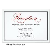 reception cards wording wedding invitation reception card wording awesome wedding