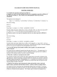econometrics by example solution coefficient of determination