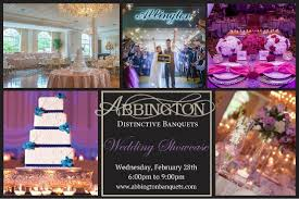 must register for wedding abbington wedding showcase 2018 the celebration society