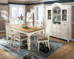 White Dining Room Table Set Entranching Country Style Dining Room Table White On Sets