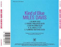 kind of blue columbia jazz masterpieces miles davis release