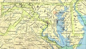 maryland map maryland maps perry castañeda map collection ut library
