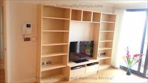 Ikea Tv Furniture Ikea Billy Benno Tv Stand With Storage Youtube