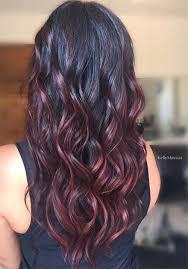 darker hair on top lighter on bottom is called 100 badass red hair colors auburn cherry copper burgundy hair