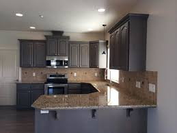 grey stained kitchen cabinets stylish idea 15 staining gray hbe