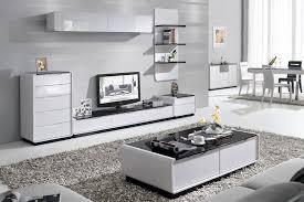 White Living Room Furniture Gloss Furniture For The Living Room