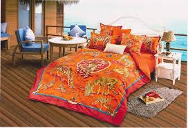 Versace Comforter Sets Stunning Orange Red Animal Themed Versace Bedding Bedroom Design