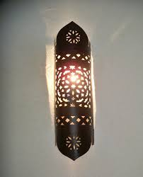 Moroccan Sconce Wall Lights Moroccan Wall Sconce Applique Lantern Lamp Lampshade