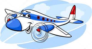imagenes animadas de aviones aire avión dibujos animados ilustración vector de stock