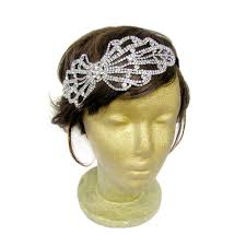 1940s hair accessories big bow headband 1940s bow headband bridal bow hair accessories
