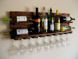 wooden wine racks wall modern home interiors wonderful wooden