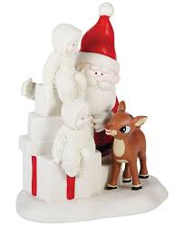 department 56 snowbabies team rudolph collectible figurine