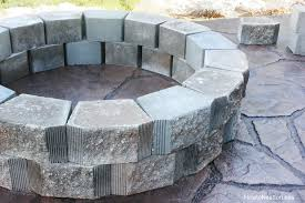 Patio And Firepit How To Build A Patio Firepit How To Nest For Less