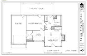 small homes floor plans cottage house plans tiny floor plan with porches one bedroom