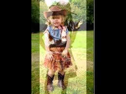 cowgirl halloween costume kids toddler cowgirl clothes youtube