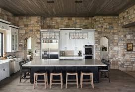 luminaire cuisine moderne ambiance cosy par le luminaire led dans une cuisine moderne