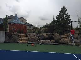 tennis court construction utah parkin tennis courts