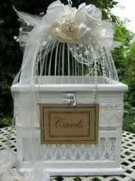 wishing box wedding wooden wedding wishing well white ivory card box incl lid as