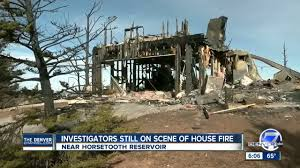 Wildfire Near Fort Collins Colorado by House Destroyed By Fire Near Horsetooth Reservoir Cause Under
