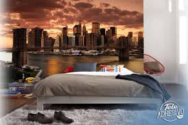 sunset in new york wall murals sunset in new york