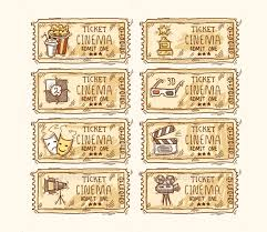 8 movie ticket templates free word eps psd formats download