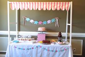 Barbie Themed Baby Shower by The Modest Homestead Elephant U0027s On Parade Baby Shower