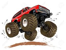 monster truck show chicago 2014 cartoon monster truck royalty free cliparts vectors and stock