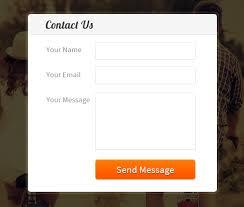 membuat form html online create simple contact form using javascript formget