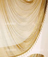 Sheer Gold Curtains Gold Hollow Out High End Privacy Sheer Curtains Buy Gold Sheer