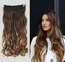 in hair extensions 20 inches wavy 3 4 clip in hair extensions