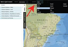 interactive map maker by national geographic social studies