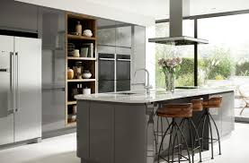 holborn grey gloss kitchen modern range benchmarx with kitchens