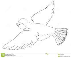 easy flying bird drawing