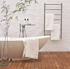 bathroom electric heated hotel towel rack for bathroom decoration