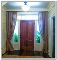 Curtains For Doors With Windows Side Door Window Curtains Curtains Ideas