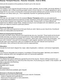 Sample Resume For Cosmetology Student by Beauty Therapist Cover Letter