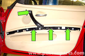 Interior Door Panel Repair Bmw E90 Door Panel Removal E91 E92 E93 Pelican Parts Diy