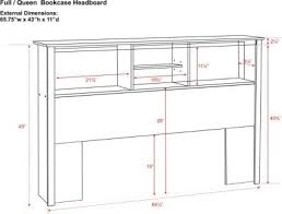 queen size bookcase headboard free bookcase headboard plans diy projects pinterest bookcase