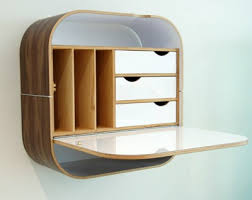 Fold Up Bookcase Tiny Apartment Above The Fold 10 Wall Mounted Folding Desks