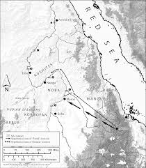 Unc Map G Hatke 2013 Aksum And Nubia Warfare Commerce And Political