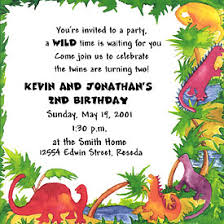 invitation for birthday party message