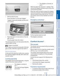 Bmw Comfort Access Key Bmw 535i Gt 2010 F07 Service Manual