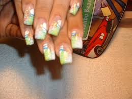 airbrush hand design nail art archive style nails magazine